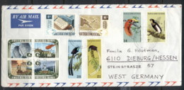 PNG 1973 Mixed Franking On Cover - Papua New Guinea