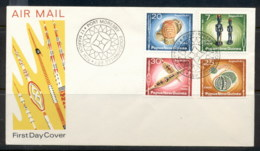 PNG 1976 Artifacts FDC - Papua New Guinea