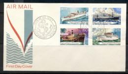PNG 1976 Ships FDC - Papua New Guinea