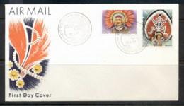 PNG 1977 Heardesses 1,2k FDC - Papua New Guinea