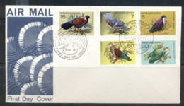 PNG 1977 Pigeons, Birds FDC - Papua New Guinea