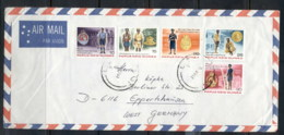PNG 1978 Police On Cover - Papua New Guinea