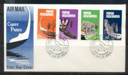 PNG 1979 Canoe Prows FDc - Papua New Guinea