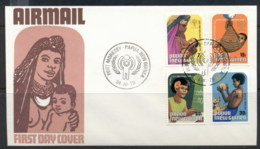 PNG 1979 IYC FDC - Papua New Guinea