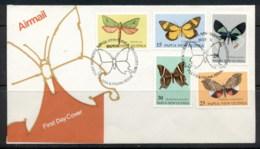 PNG 1979 Moths FDC - Papua New Guinea