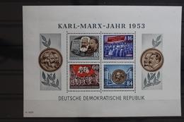 DDR Block 9A ** Postfrisch Karl-Marx-Jahr 1953 #TB086 - DDR
