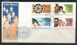 PNG 1980 Census FDC - Papua New Guinea