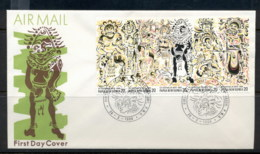 PNG 1980 Myths FDC - Papua New Guinea