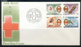 PNG 1980 Red Cross FDC - Papua New Guinea