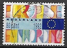PAYS - BAS       -    1992 .   Y&T  N° 1413 Oblitéré.   Marché Unique Européen - 1980-... (Beatrix)
