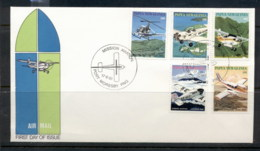PNG 1981 Aviation FDC - Papua New Guinea