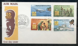 PNG 1981 Defense Forces FDC - Papua New Guinea