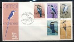PNG 1981 Kingfishers, Birds FDC - Papua New Guinea