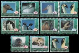 Ross-Gebiet 1994/95 - Mi-Nr. 21-30 & 31 ** - MNH - Vögel, Robben / Birds, Seals - Nuovi