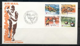 PNG 1982 Commonwealth Games, Anpex FDC - Papua New Guinea