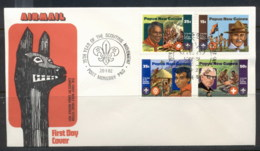 PNG 1982 Scouts FDC - Papua New Guinea
