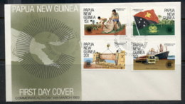 PNG 1983 Commonwealth Day FDC - Papua New Guinea