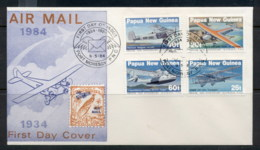 PNG 1984 Airmail FDC - Papua New Guinea