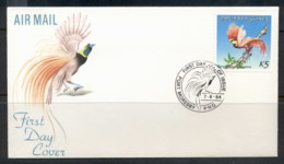 PNG 1984 Bird Of Paradise 5k FDC - Papua New Guinea