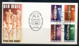 PNG 1985 Artifacts FDC - Papua New Guinea