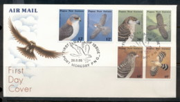 PNG 1985 Seabirds Of Prey FDC - Papua New Guinea