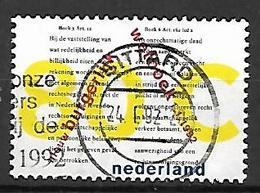 PAYS - BAS       -    1992 .   Y&T  N° 1392 Oblitéré.   Le Nouveau Code Civil - 1980-... (Beatrix)