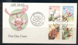 PNG 1986 Flowers, Orchids FDC - Papua New Guinea