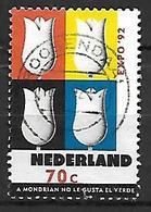 PAYS - BAS       -    1992 .   Y&T  N° 1397 Oblitéré.   Tulipes - 1980-... (Beatrix)