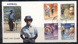 PNG 1988 Police FDC - Papua New Guinea