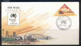 PNG 1988 Sydpex FDC - Papua New Guinea