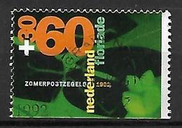 PAYS - BAS       -    1992 .   Y&T  N° 1400a Oblitéré.   Fleurs Stylisées  /  Surtaxés - 1980-... (Beatrix)