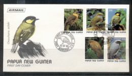 PNG 1989 Birds FDC - Papua New Guinea