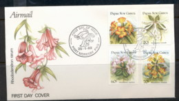 PNG 1989 Flowers FDC - Papua New Guinea