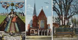 5 CPA  - KEVELAER - Kreuzbaum - Kerzenkapelle - Pfarrkirche - Gnadenbild - - Kevelaer