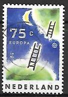 PAYS - BAS       -    1991 .   Y&T  N° 1380 Oblitéré.   EUROPA  /  Relations Interplanétaires  /  échelles - 1980-... (Beatrix)