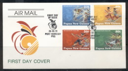 PNG 1991 South Pacific Games FDC - Papua New Guinea