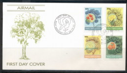 PNG 1992 Flowering Trees FDC - Papua New Guinea