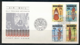 PNG 1992 Gulf Artefacts FDC - Papua New Guinea