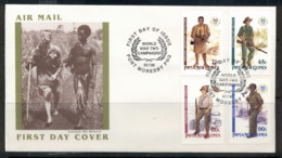 PNG 1992 World War II FDC - Papua New Guinea