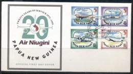 PNG 1993 Air Niugini FDC - Papua New Guinea