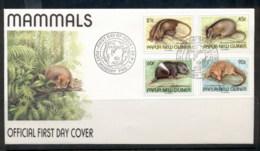 PNG 1993 Mammals FDC - Papua New Guinea