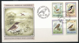 PNG 1993 Small Birds Of Paradise FDC - Papua New Guinea