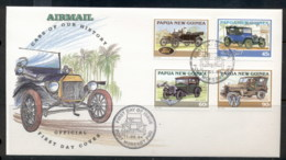 PNG 1994 Cars FDC - Papua New Guinea