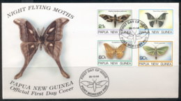 PNG 1994 Insects, Moths FDC - Papua New Guinea
