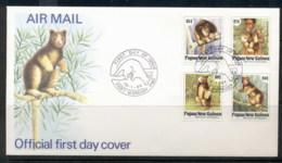 PNG 1994 Tree Kangaroo FDC - Papua New Guinea