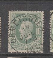 COB 30 Oblitération Centrale Simple Cercle ORMEIGNIES Superbe - 1869-1883 Leopold II