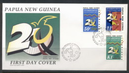 PNG 1995 Independence 20th Anniv. FDC - Papua New Guinea