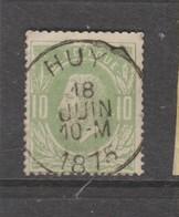 COB 30 Oblitération Centrale Simple Cercle HUY - 1869-1883 Léopold II