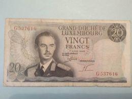 20 Francs 1966 - Lussemburgo