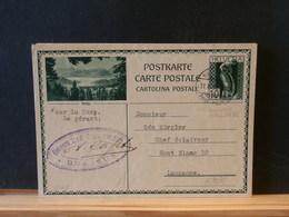 A9835   CP SUISSE  ILLUSTRE  1931 - Ganzsachen